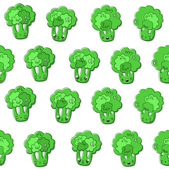 Patrón de brocoli