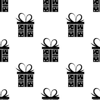 Patrón de caja de regalo