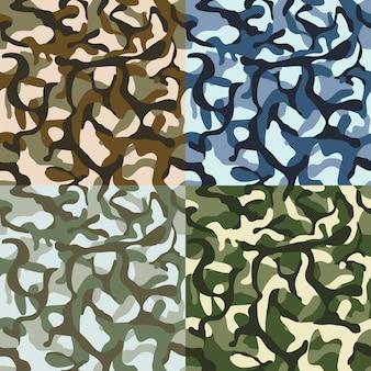 Patrón de camuflaje del ejército