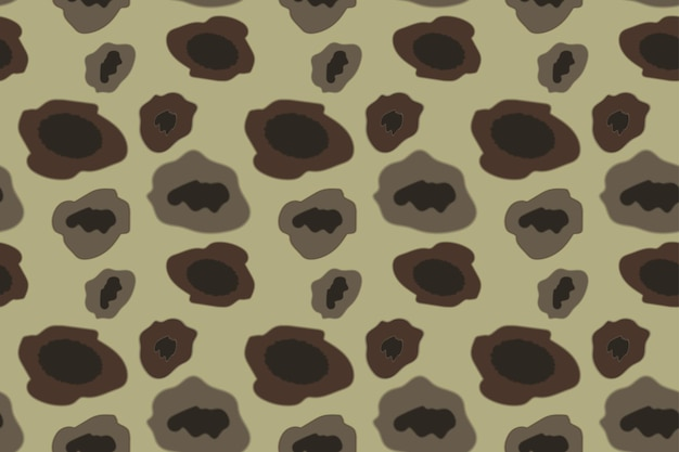 Patrón de camuflaje militar color caqui. ilustración de vector.