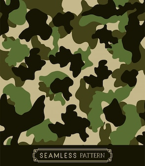 Patrón de camuflaje militar.