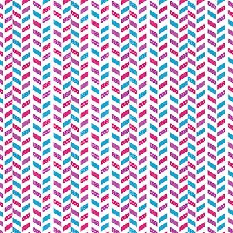 Patrón de colcha geométrica.