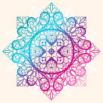Patrón de color de círculo