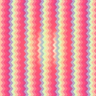 Patrón en colores pastel de zigzag