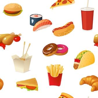 Patrón de comida rápida