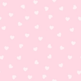 Patrón de corazón rosa claro