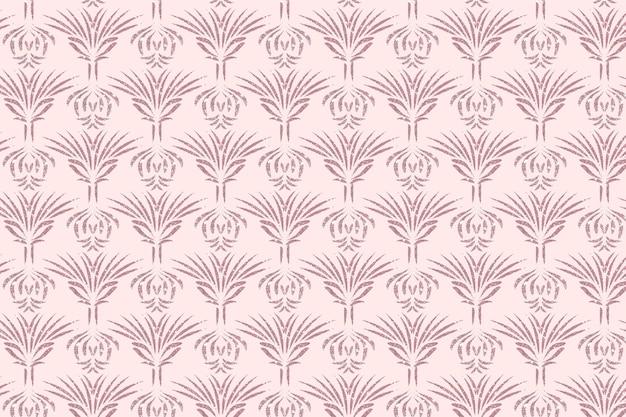 Patrón sin costuras art deco de oro rosa