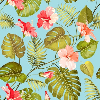 Patrón sin costuras botánico