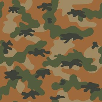 Patrón sin costuras de camuflaje. ilustración vectorial