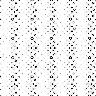 Patrón sin costuras de círculos, puntos o anillos