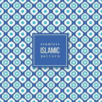 Patrón sin costuras en estilo islámico.