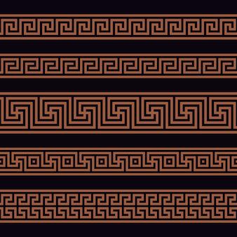 Patrón sin costuras griego