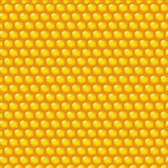 Patrón sin costuras de miel