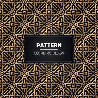 Patrón sin costuras. ornamental dorado decorativo vintage.