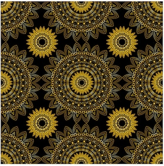 Patrón sin costuras ornamento geométrico
