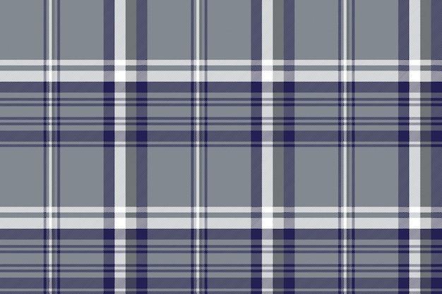 Patrón sin costuras plaid diagonal gris