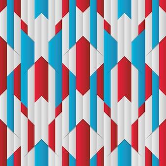 Patrón sin costuras raya abstracta