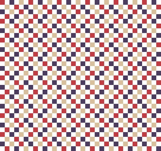 Patrón cuadrado. fondo simple geométrico. ilustración de estilo creativo y elegante.