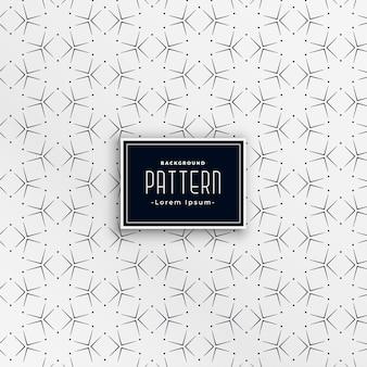 Patrón de cuadrados geométricos formando estrellas