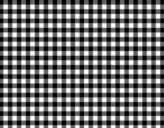 Patrón a cuadros blanco y negro