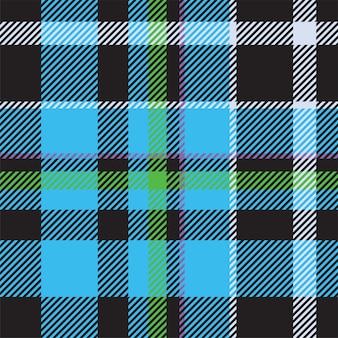 Patrón de cuadros sin costuras de tartán escocia. tela de fondo retro. textura geométrica cuadrada de color a cuadros vintage.