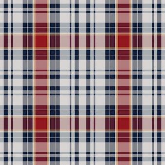 Patrón de cuadros sin costuras. verifique la textura de la tela. fondo cuadrado de rayas. tartán de diseño textil de vector.