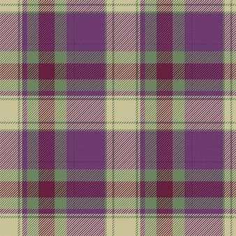Patrón de cuadros escoceses sin costuras de tartán escocés. tela de fondo retro. textura geométrica cuadrada de color de vintage checks.