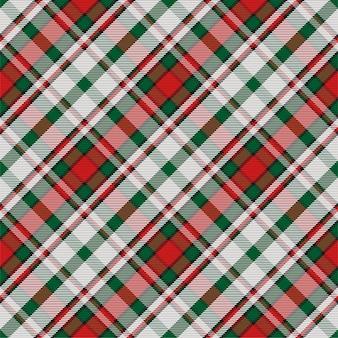 Patrón de cuadros escoceses sin costuras de tartán escocés. textura geométrica vintage