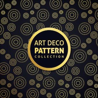 Patrón de decoración de arte