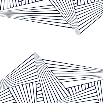 Patrón de lineas abstractas geométrico