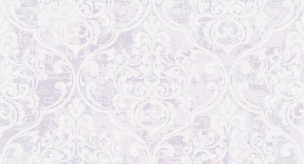 Patrón de decoración vintage adornado