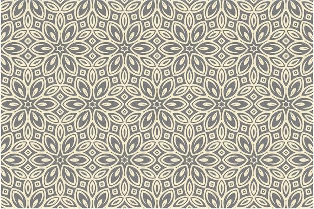 Patrón decorativo de damasco