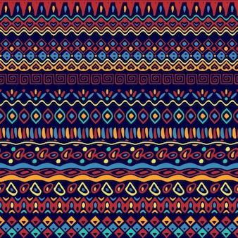 Patrón de dibujos étnicos