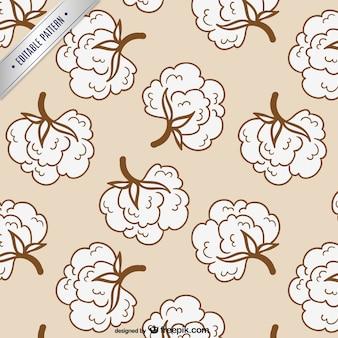 Patrón editable de algodón