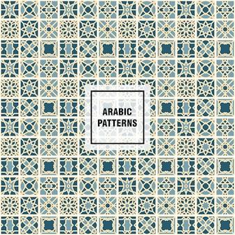Patrón elegante árabe