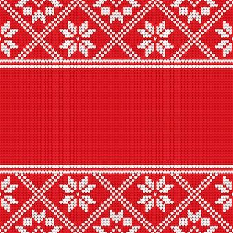Patrón escandinavo tradicional