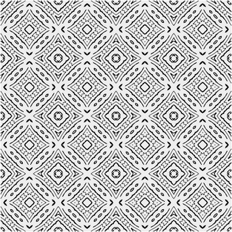 Patrón con estilo de color blanco y negro