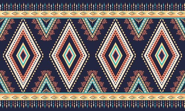 Patrón étnico geométrico oriental. patrón sin costuras.