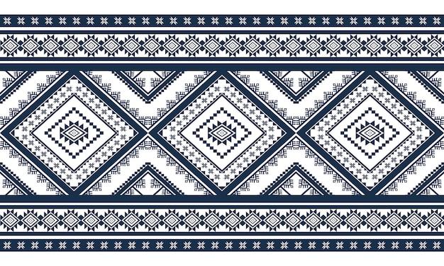 Patrón étnico geométrico oriental.