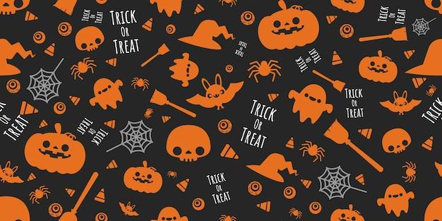Patrón festivo de halloween.