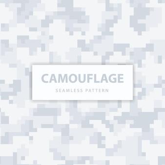 Patrón sin fisuras de camuflaje de píxeles militares y militares