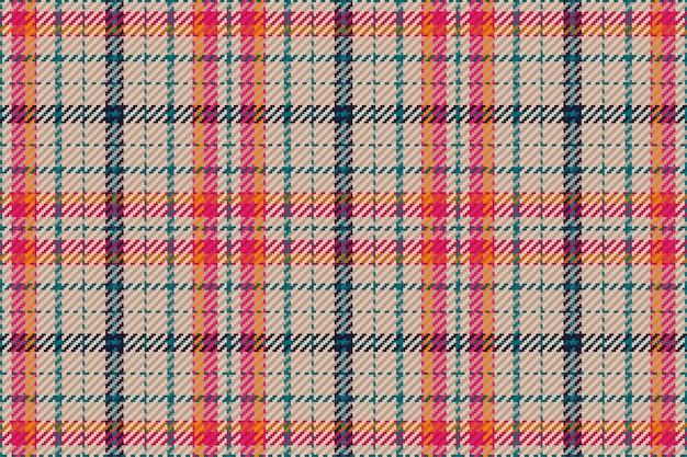 Patrón sin fisuras de cuadros escoceses de tartán escocés. fondo repetible con textura de tela a cuadros. telón de fondo de vector plano de impresión textil a rayas.