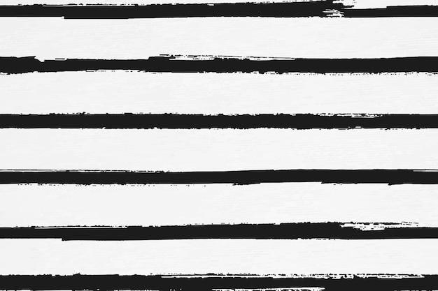 Patrón sin fisuras de fondo de pincel de tinta de rayas