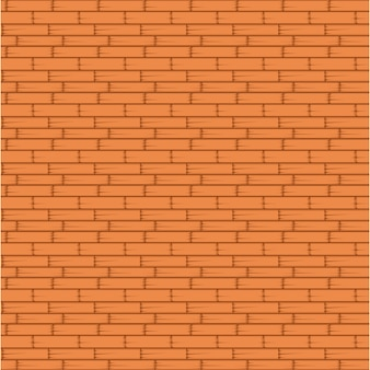 Patrón sin fisuras de la pared de ladrillo naranja