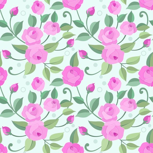 Flor de Pascua rosa y verde-libertad Tela