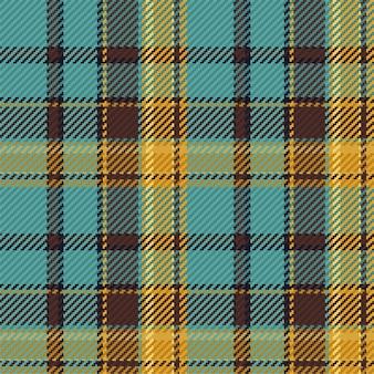 Patrón sin fisuras de tartán escocés