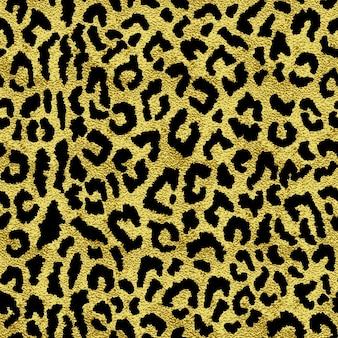 Patrón sin fisuras con textura de manchas de leopardo