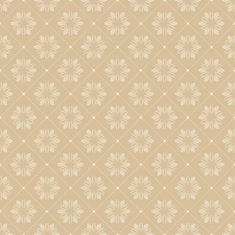 Patrón floral abstracto para fondo de verano o primavera. ilustración de estilo creativo y retro.