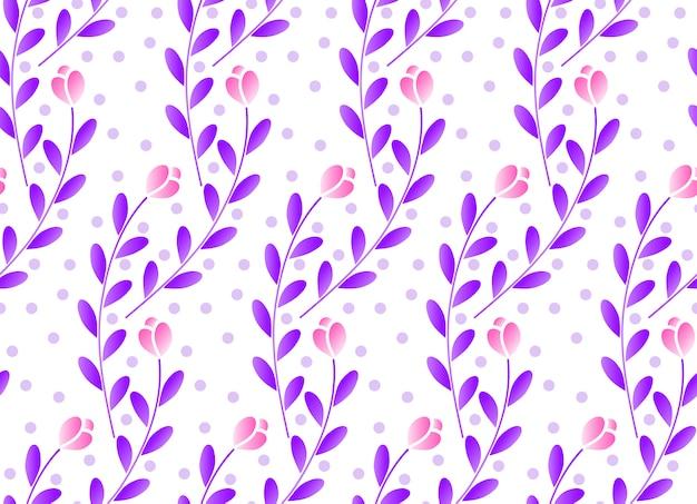 Patrón floral lindo
