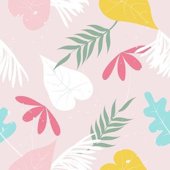 Patrón floral vintage lindo transparente